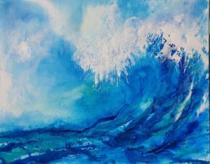 Meeresrauschen 1 Helga Krieger