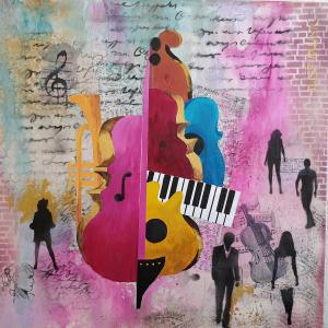 Sound of music von Helga Krieger